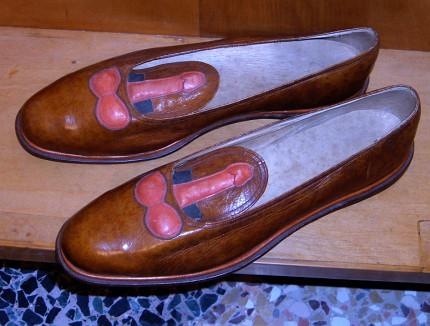 Gabriele D'Annunzio - scarpe