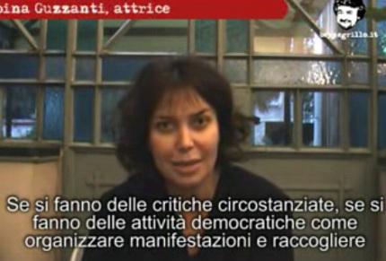 Blog Guzzanti (Sabina), razzista