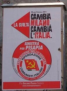 Milano, tutti a piedi  in processione a Torre Galfa