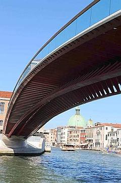 Il ponte disegnato 'col compiuters'