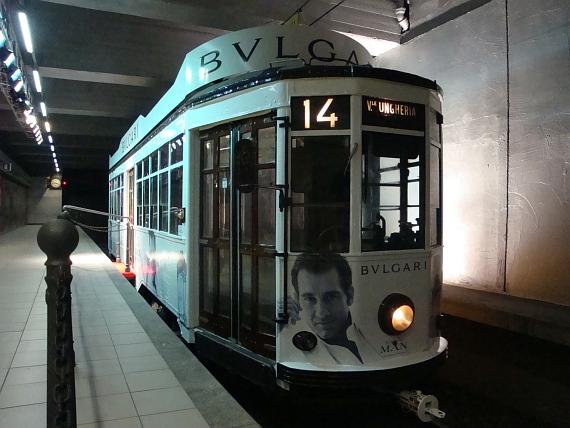 Tram Milanesi in maschera