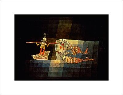 Paul Klee -Sinbad the Sailor
